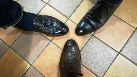靴磨き選手権大会2019